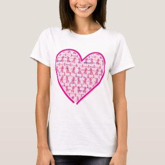 Consciência do cancro da mama camiseta