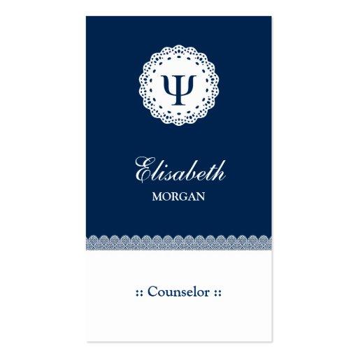 Conselheiro profissional - símbolo da libra por po cartões de visitas