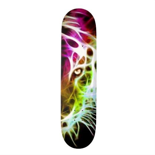 Conselho feito sob encomenda do parque do tigre da shape de skate 19,7cm