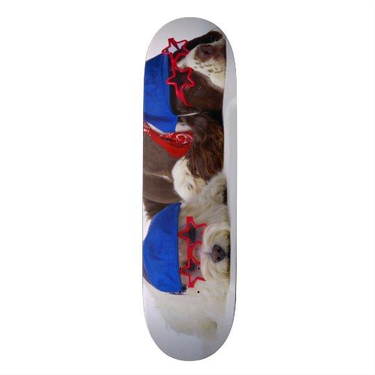 Conselho feito sob encomenda do parque dos cães da shape de skate 18,7cm