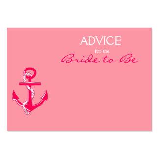 Conselho náutico cor-de-rosa para que a noiva seja