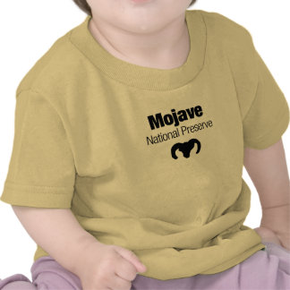 Conserva nacional do Mojave T-shirts
