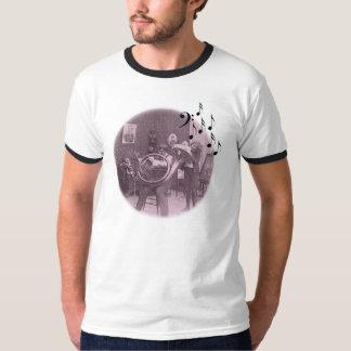 considerando da tuba no salão de beleza camiseta