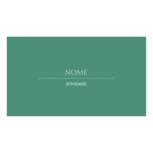 Consolda-maior 2 elegante cartão de visita