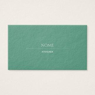 Consolda-maior 2 elegante cartão de visitas