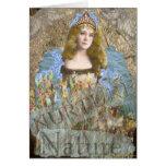 Consolide o notecard da natureza cartão