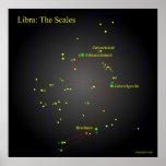 Constelação de Libra The Scales Posteres