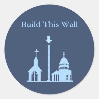 Construa esta etiqueta da parede