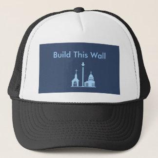 Construa este chapéu da parede boné