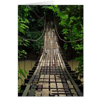 Construa uma ponte sobre a Jurassic Park o cartão