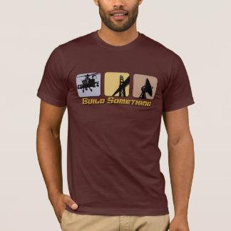 Construção algo t-shirt da engenharia camiseta