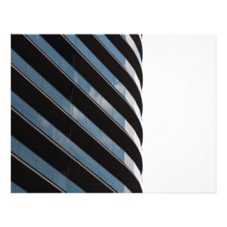 Construção alta contemporânea da elevação panfleto personalizados