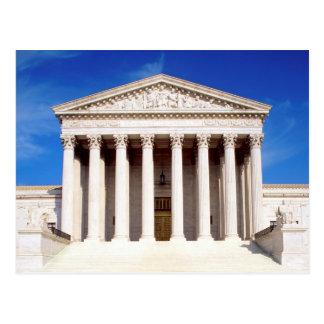 Construção da corte suprema dos E.U., Washington Cartão Postal