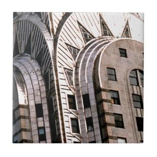 Construção de Chrysler: Feche acima da vista