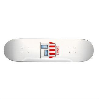 Construção de loja skate personalizado