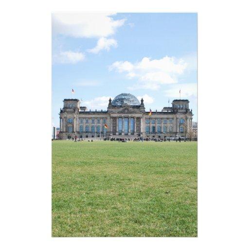 Construção de Reichstag - Berlim, Alemanha Panfleto Personalizado