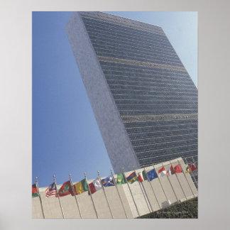 Construção de United Nations Poster
