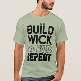 Construção, feltro de lubrificação, nuvem, t-shirt camiseta