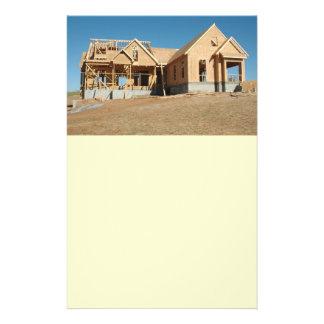 construção home nova flyer 13.97 x 21.59cm