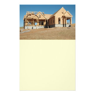 construção home nova panfleto