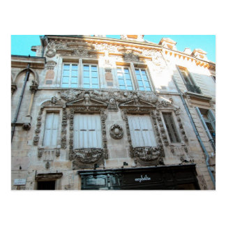 Construções elegantes em Dijon, Borgonha, France Cartão Postal