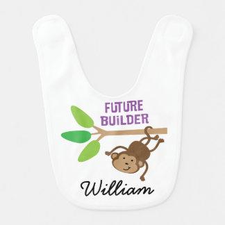 Construtor futuro babador personalizado do bebê