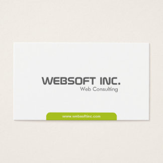 Consulta da Web - cartões de visitas