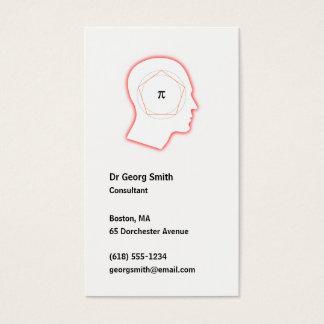 Consultanr Cartão De Visitas