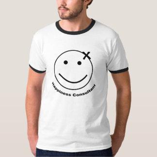 Consultante da felicidade camiseta