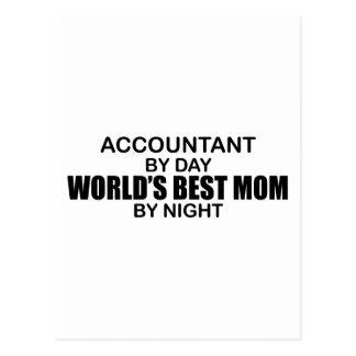 Contador - a melhor mamã do mundo cartão postal