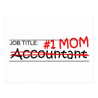 Contador da mamã do trabalho 1 cartoes postais