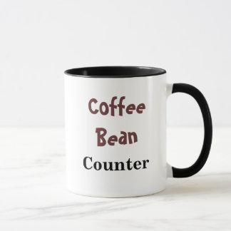 Contador de feijão do café - caneca do apelido