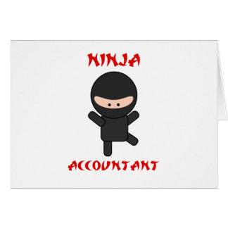 Contador de Ninja Cartão