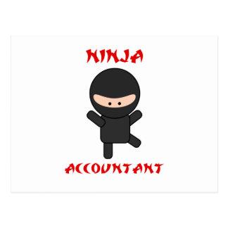 Contador de Ninja Cartao Postal