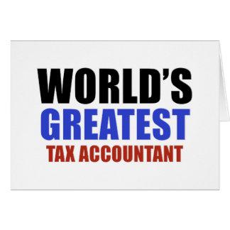 Contador do imposto do mundo o grande cartoes