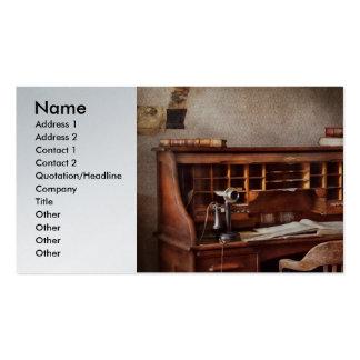 Contador - empresa de contabilidade cartão de visita