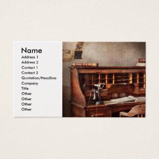 Contador - empresa de contabilidade cartão de visitas