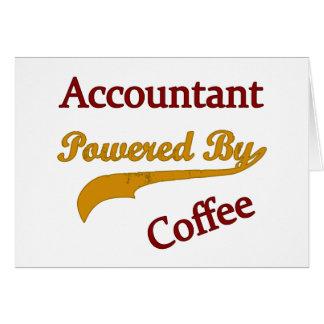 Contador psto pelo café cartao