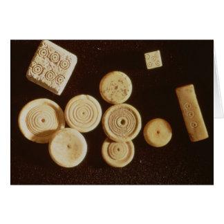 Contadores e dados, Gallo-Romanos Cartões