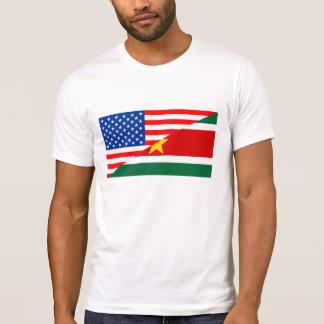 contagem dos EUA da bandeira de Estados Unidos Tshirts