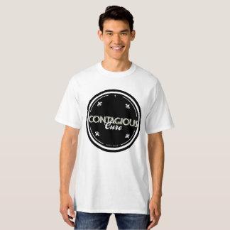 Contagious Cure #EuContagio White/Black Tshirt