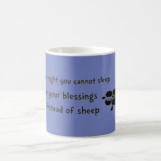 Conte sua caneca das bênçãos