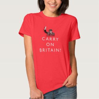 Continue Grâ Bretanha! T-shirt