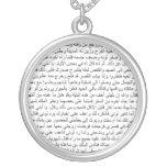 conto de 1001 noites na escrita árabe oriental bijuteria personalizada