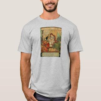 Conto de fadas da Bela Adormecida do guindaste de Tshirt
