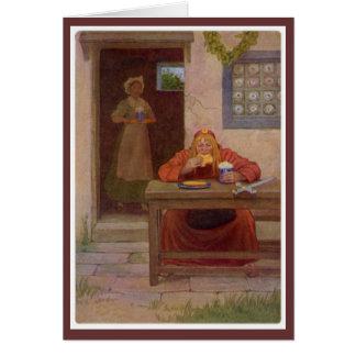 Contos de Canterbury - Pardoner Cartão Comemorativo