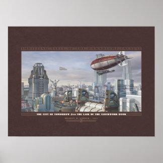 """Contos de excitação: A cidade do amanhã (24x18"""") Impressão"""