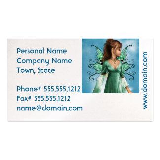 Contos de fadas cartão de visita