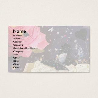 Contos de fadas! cartão de visitas