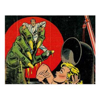 Contos do horror cómicos cartão postal
